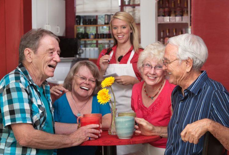 Seniors Fun Coffee Meet