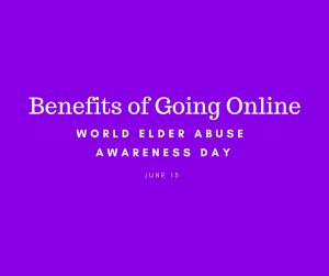 Benefits of going online