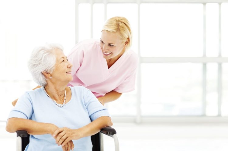 caregivers and seniors